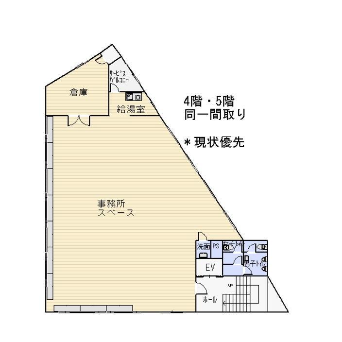 茅野 SKビル 4F [ 貸事務所]_サブ画像02