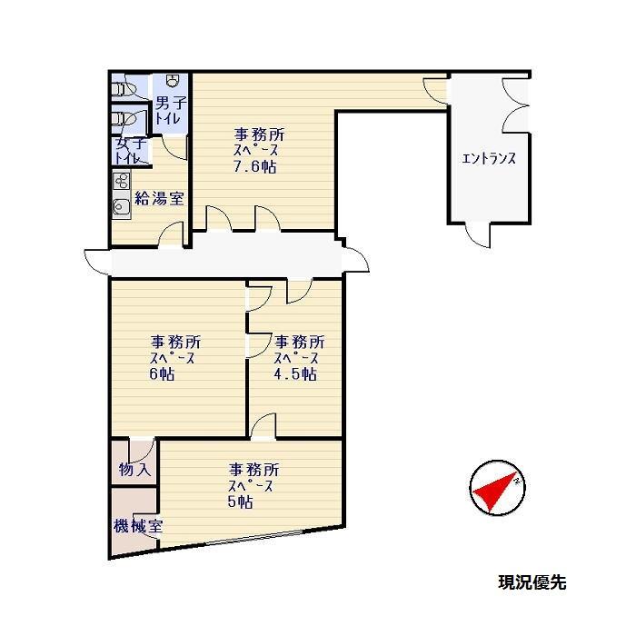 諏訪シティホテル成田屋・2F [貸事務所]_サブ画像02