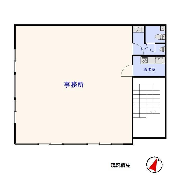 中洲 TKビル 3F [貸事務所]_サブ画像02