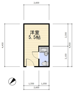 間取り角部屋 数値入り 反転 南側.jpg
