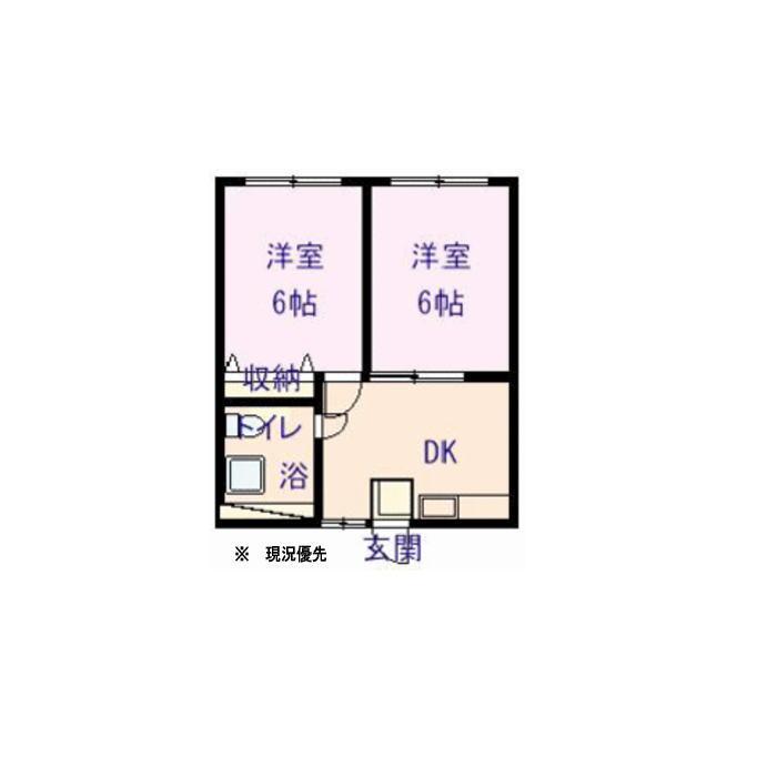 アパルタメントジアスB棟202号室_サブ画像02