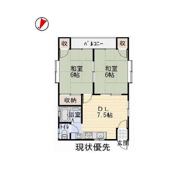 いはるコーポ101号室_サブ画像02