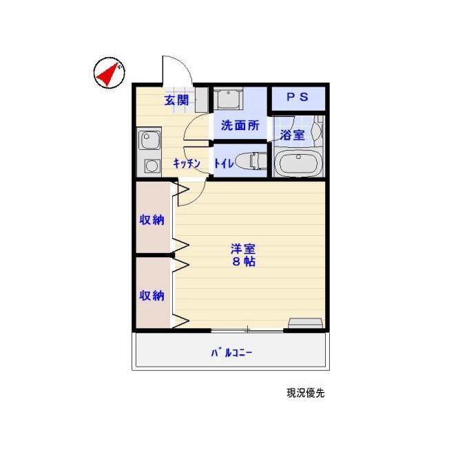ロイヤルハイツT&T-Ⅴ 4-G号室_サブ画像02