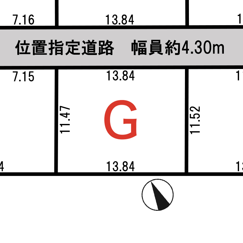 諏訪市上川二丁目 G区画_サブ画像02