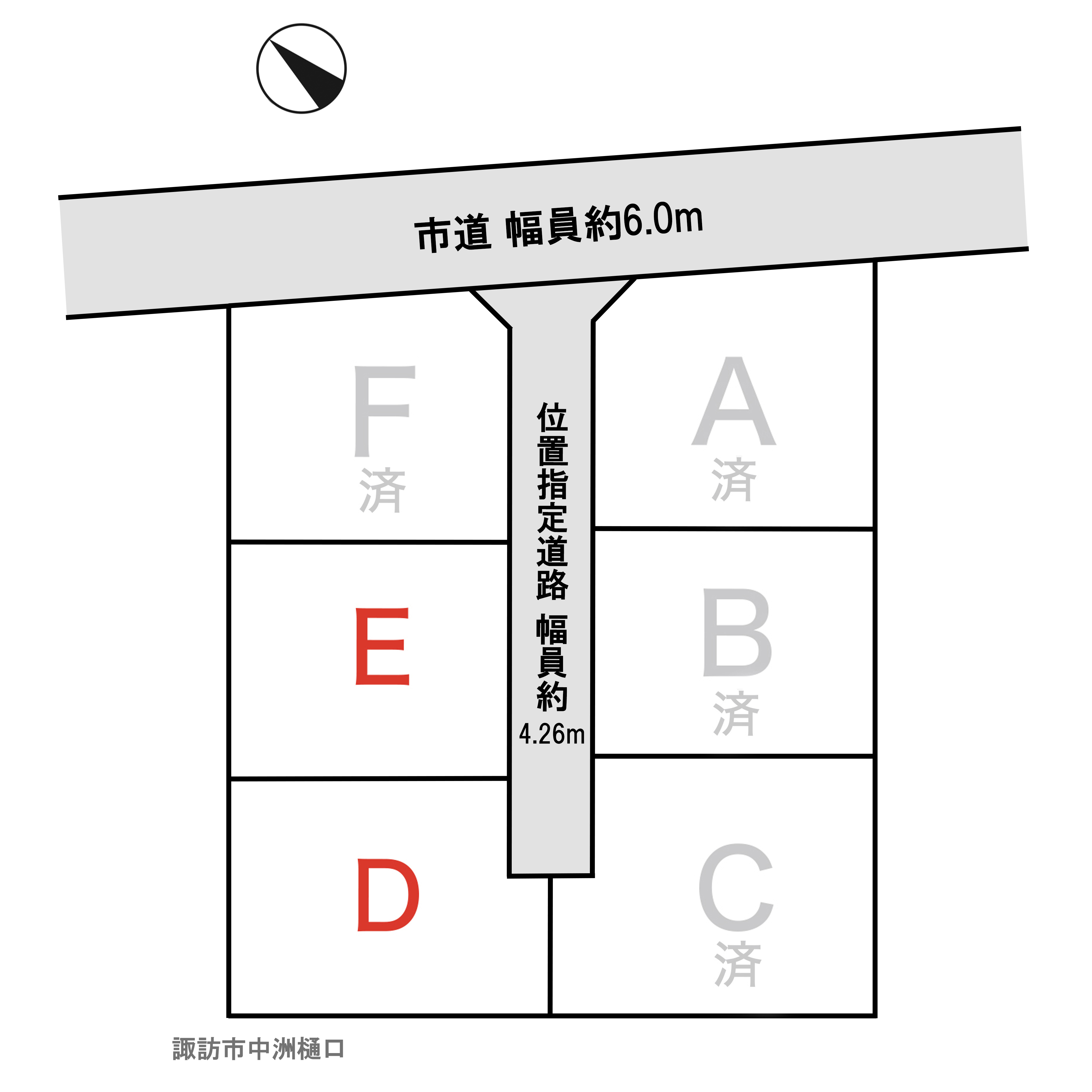 諏訪市 中洲神宮寺樋口のアイキャッチ画像