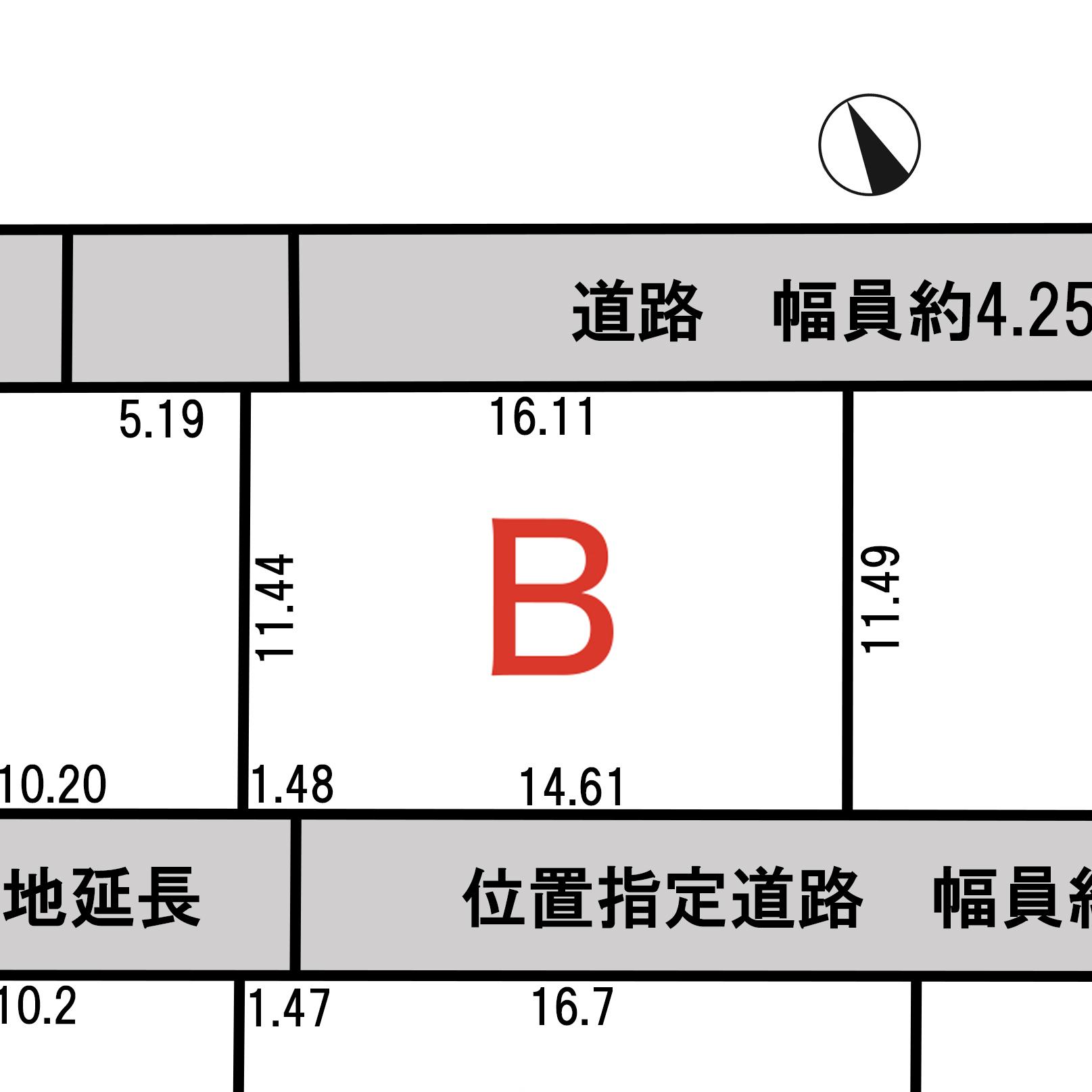 諏訪市上川二丁目 B区画_サブ画像02
