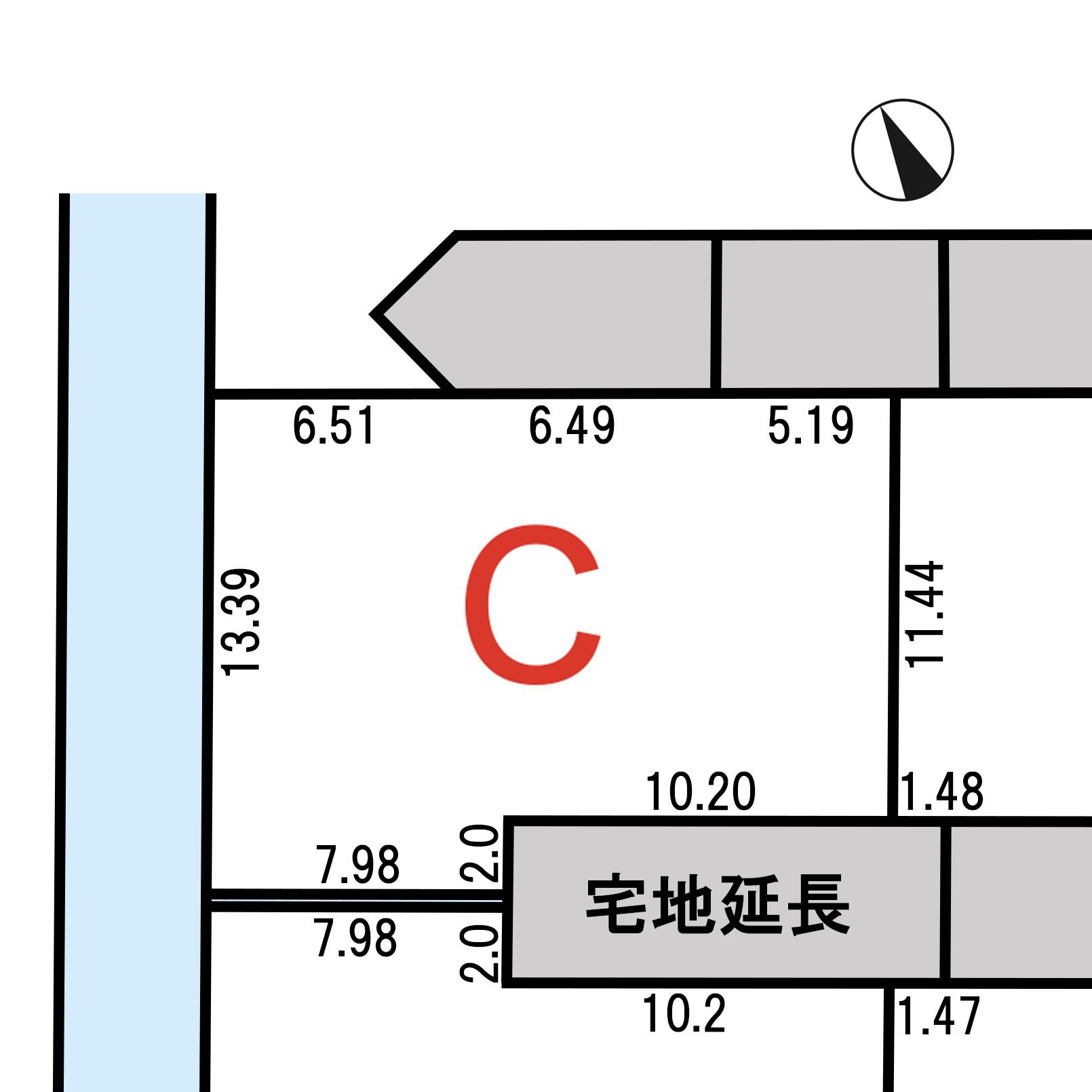 諏訪市上川二丁目 C区画_サブ画像02