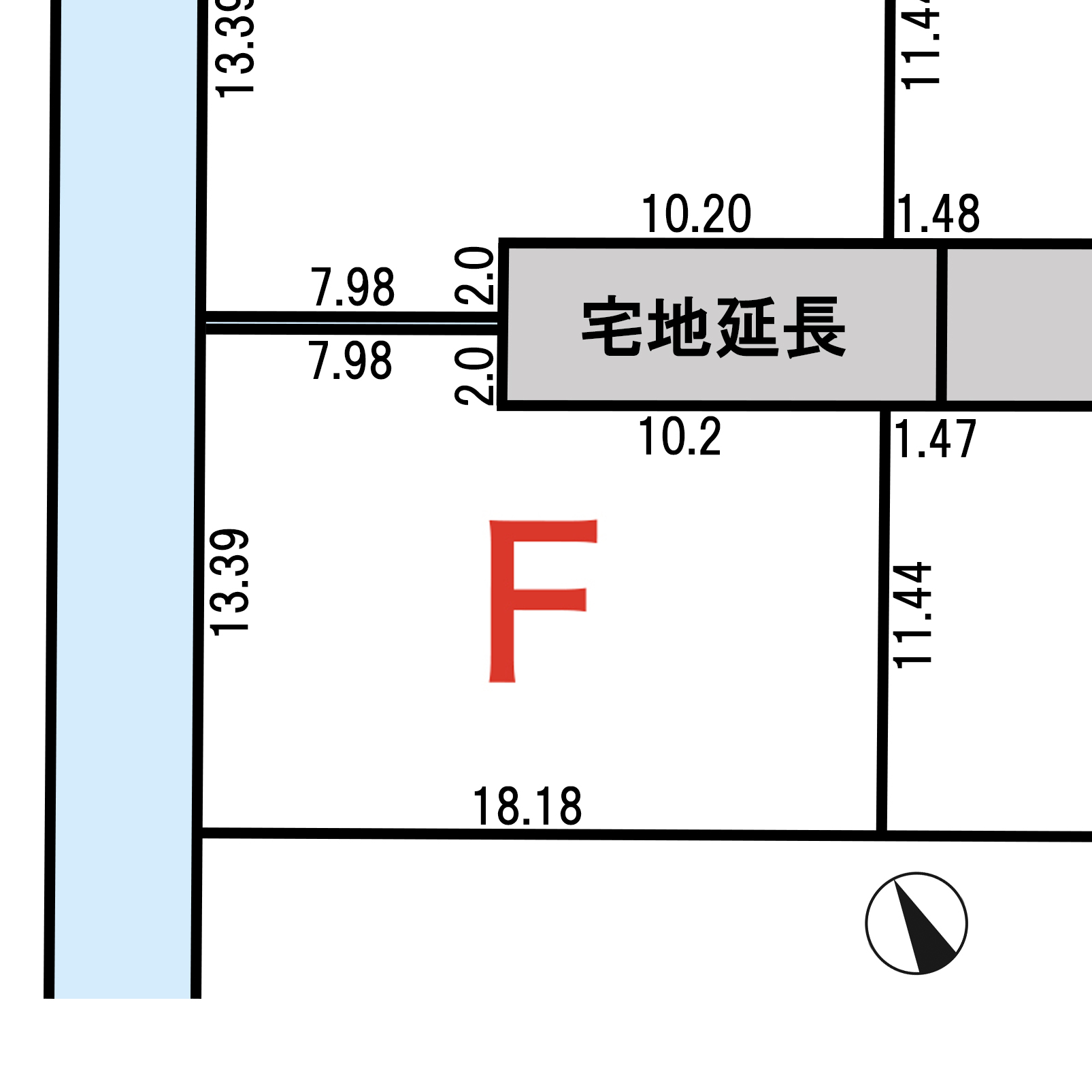 諏訪市上川二丁目 F区画_サブ画像02