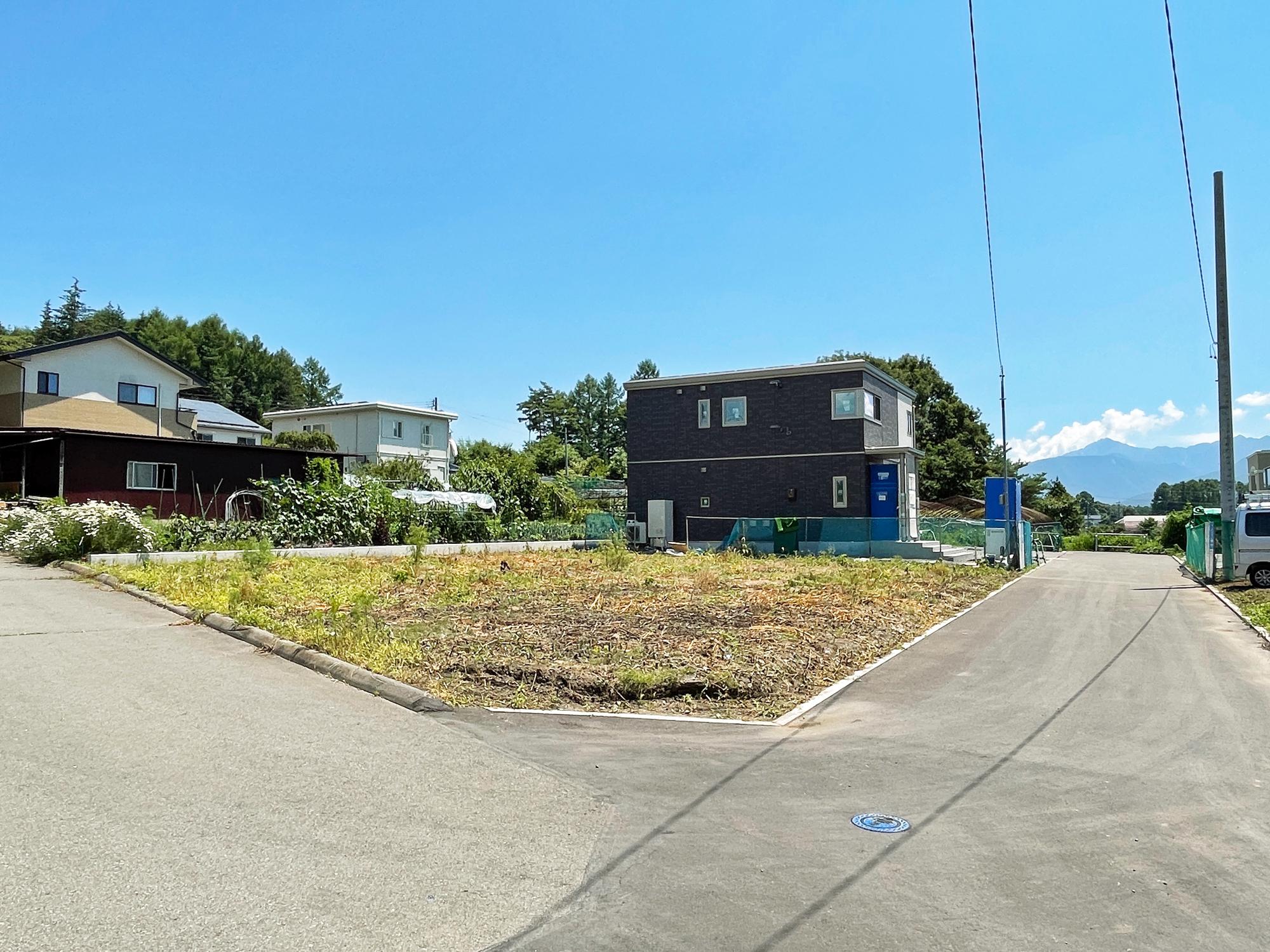 諏訪郡原村久保地尾根 B区画のアイキャッチ画像