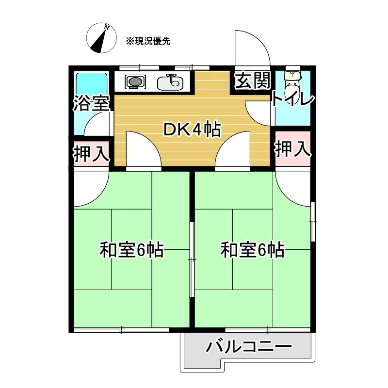 あやめコーポ 201号室_サブ画像02